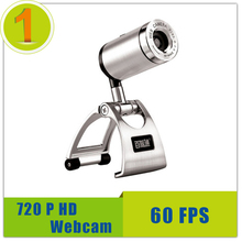 2016 Newest Webcam 60 fps HD 720p ,Maximum Resolution 1280x720 Free Drive Web Camera For PC Laptop Free Shipping