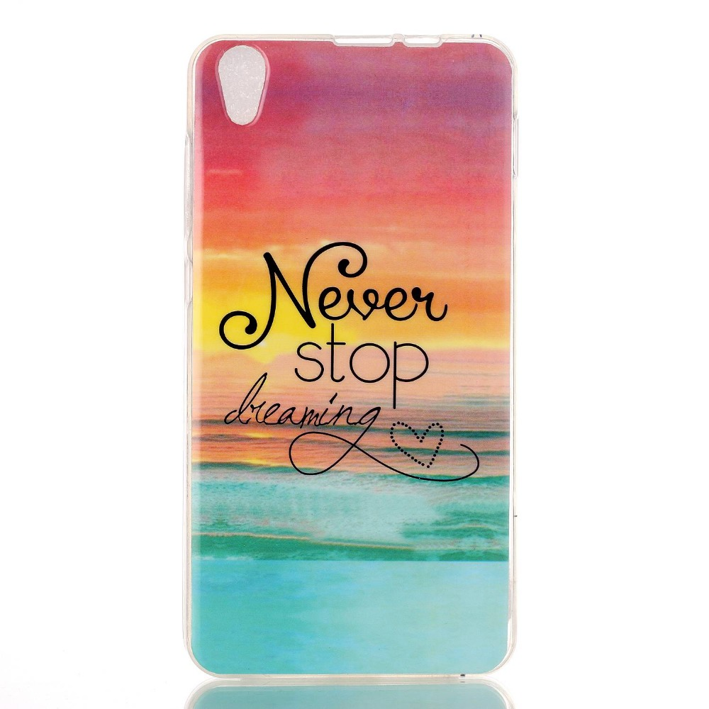 Flower Never stop Design Lenovo S850 Soft Tpu Cover Colored Paiting Case Cover Lenovo S850 Case Skin Cover Free Shipping(China (Mainland))