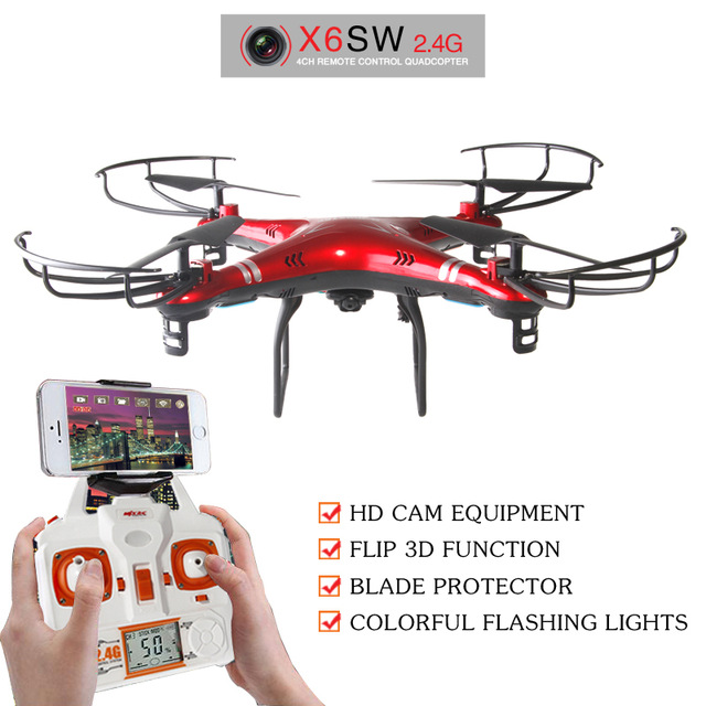 2016 NEW X6sw RC Helicopter drone quadcopter professional drones With C4005 Wifi Fpv Camera VS X600 x5sw