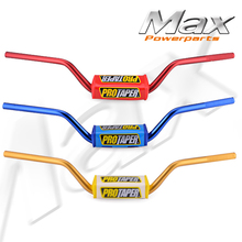 Buy FREE SHIPPING 1 1/8 MOTORCYCLE FAT BARS 28MM MID HANDLEBARS HANDLE TUBES PIT RACING DIRT BIKE MOTOCROSS ATV QUAD OFF ROAD BLUE for $37.99 in AliExpress store