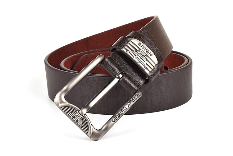 2015 NEW men belt brand pin buckle belts business high-end men's belt leather belt men casual Free Shipping G007