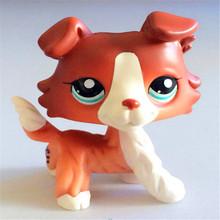 LP Pet Shop Cat игрушки милые короткие волосы коллекций белый розовый желтый полосатый черный оранжевый одежда «Супергерои» Kitty животных рождест...(China)