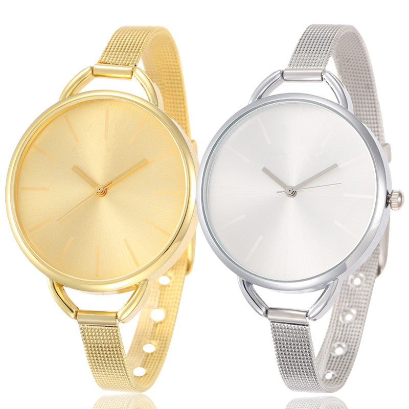 2015 New Fashion Gold Watch Luxury Brand Women Dress Watches Quartz Casual Watch.Wristwatch Clock Relogios Femininos Reloj Mujer
