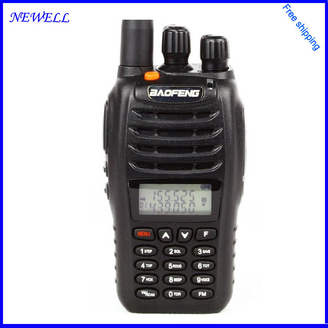 Free shipping by Fedex New Walkie Talkie Baofeng UV-B5 5W 99CH UHF+VHF A1011A Dual Band/Frequency /Display Two-way Radio(China (Mainland))