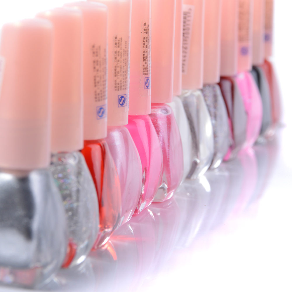 New 13 Color Nail Art Neon Fluorescent Non-toxic Varnish Fashion Choose Color for Lady Girl(China (Mainland))