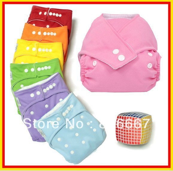 free shipping Adjustable Babyland washable baby cloth diaper nappy urine pants 7COLORS free shipping