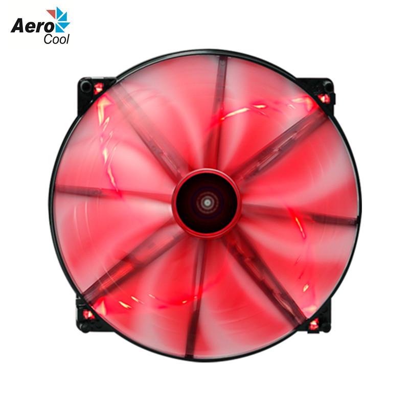 Aerocool Dark Force 200mm Fan Computer Case Cooling Fan 200mm 12V 3 Pin 4 Pin Computer