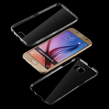 Buy 2017 360 Degree Transparent Ultra Thin Phone Case Full Protection Samsung Galaxy S6 Clear Thin Soft Back Cover for $1.00 in AliExpress store