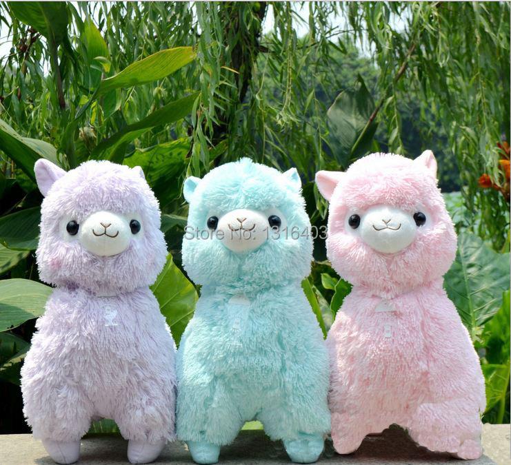 Online kaufen gro handel alpaka kuscheltier aus china - Alpaka kuscheltier ...