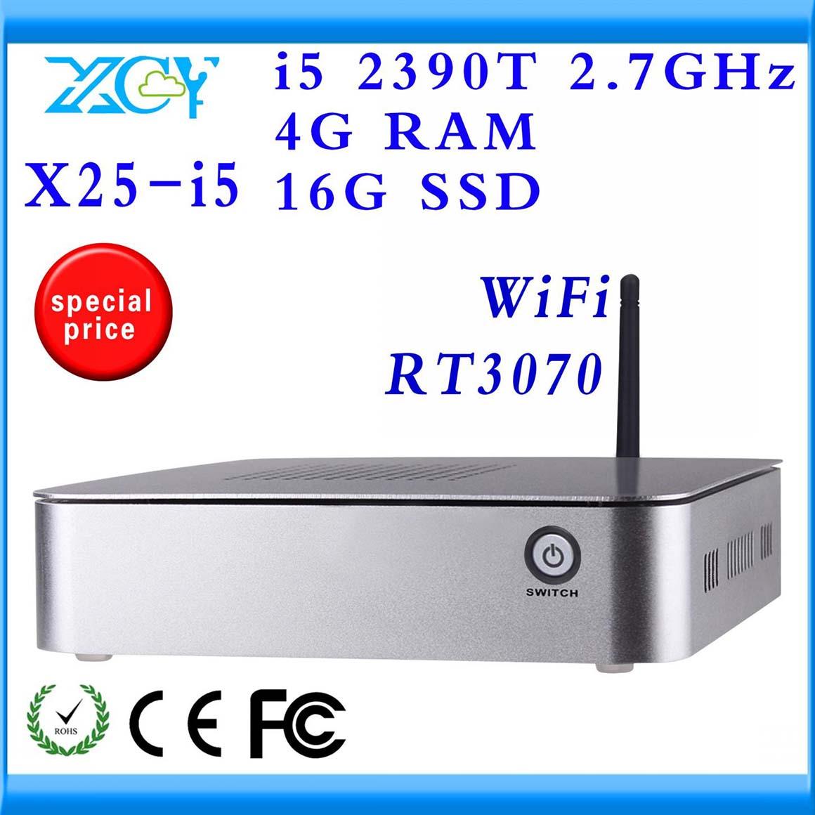 Aluminium HTPC Computer Case Pc host XCY X25-I5 SSD 8GB(standard) Hard Drive Capacity(China (Mainland))