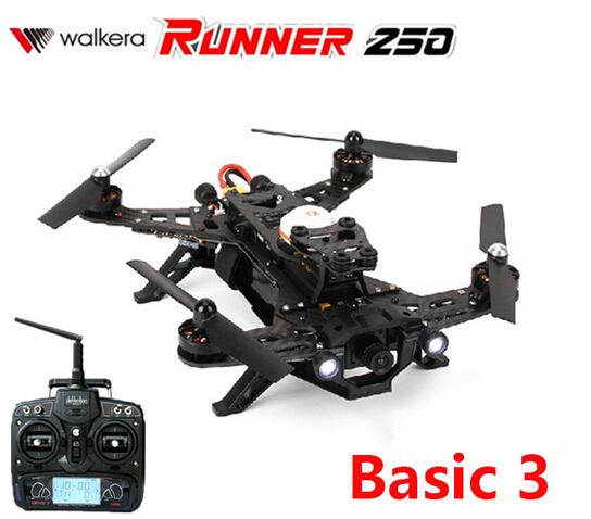 (In stock) Original Walkera Runner 250 Racing (Basic 3 Version ) with DEVO 7 transmitter RC Quadcopter Drone RTF 2.4GHz<br><br>Aliexpress