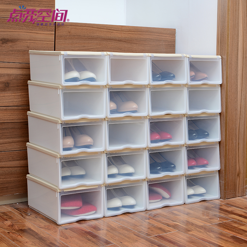 rangement chaussures en plastique. Black Bedroom Furniture Sets. Home Design Ideas