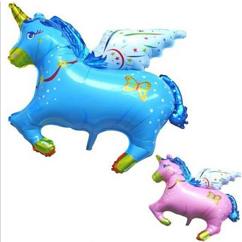 Jumbo Flying Horse Shape Foil Balloon for kid toys, Big Inflatable Promotion Walking Animal balloon Free Shipping(China (Mainland))