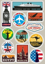 Buy Famous Scenic Spots Vintage Sticker Laptop Tablet Trolley Luggage Suitcase Sticker Car Styling Wall Skateboard Car Stickers for $2.09 in AliExpress store