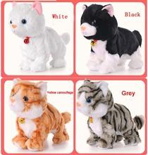 Новый Год интерактивные игрушки Новогодние Игрушки тамагочик электронное животное Для Детей Подарок Электронных домашних животных hello kitty  Музыкальный Интерактивный Робот-Кошка котенок игрушка интерактивная(China (Mainland))
