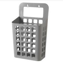 Подвесная корзина для хранения большая прачечная Cuboid настенный держатель для телефона корзина для дома Современная PP(China)