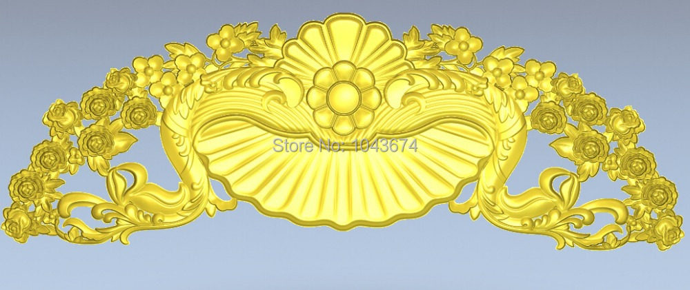 door flower 3d relief designs stl format models used cnc wood carving machine 009 - CNC Models Store store