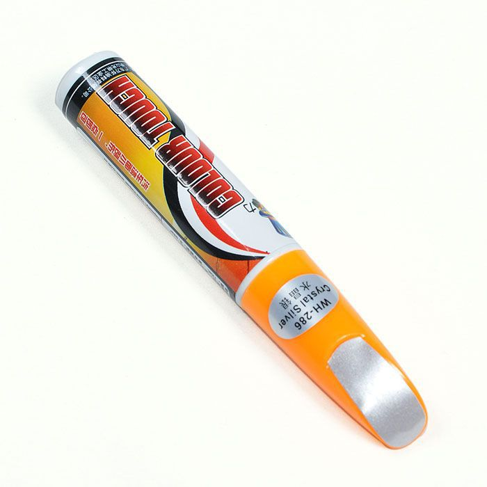 Fix It Pro Car Repair Remover Scratch Clear Pen Crystal Silver Colorr [CP552](China (Mainland))
