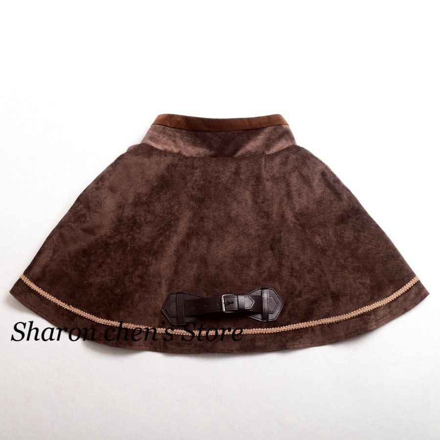 Women Victorian Steampunk Mini Cape Short Cloak