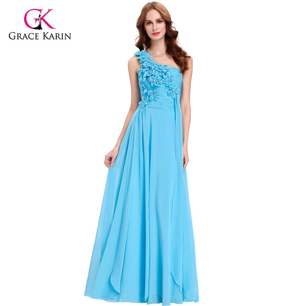 achetez en gros robe de demoiselle dhonneur blanc et bleu