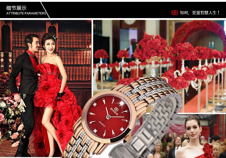 Швейцарский механизм гонконг топ люксовый бренд ZHISHI марка женщины бизнес часы водонепроницаемые 50 м из нержавеющей стали наручные часы