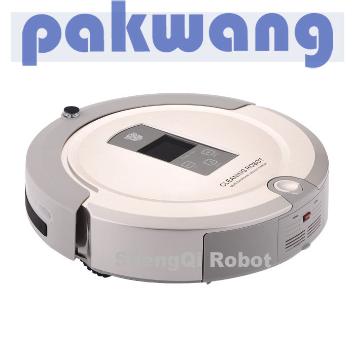 1pc/lot , Voice Prompt Household Robot Vacuum Cleaner SQ-A325 robot vacuum cleaners(China (Mainland))