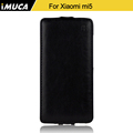 iMUCA Leather Flip Cover Case For Xiaomi Redmi 3/Xiaomi Redmi 3 Pro/Redmi 3S/Redmi 3X (5.0 Inch) Phone Cases Bags Accessories