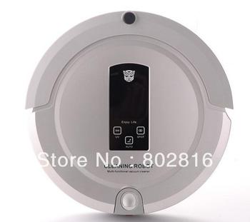 4 In 1 Multifunction Auto Vacuum Cleaner(Sweep,Vacuum,Mop,Sterilize),OEM Shining Logo,Schedule,Auto Recharged,Remote Control