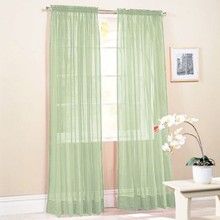 Colorful Door Window Curtains For Living Rroom Drape Panel or Scarf Assorted Scarf Sheer Voile 19 Color 1X2M New Arrival