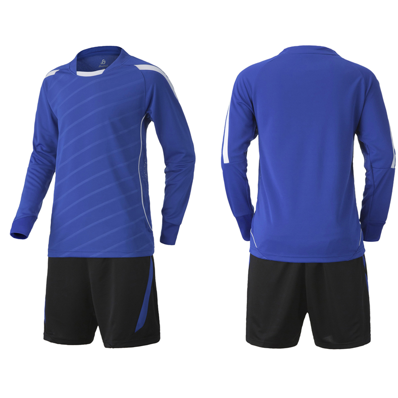 2016 Top Kids Soccer Jersey Sets Tracksuit Children Football Training Uniforms Men Sports Competition Long Sleeve Suit Print XXS(China (Mainland))