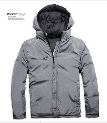 Free shipping 2015 Fashion Hot sale Newest Design Men Double Side Down Jacket Men s Winter