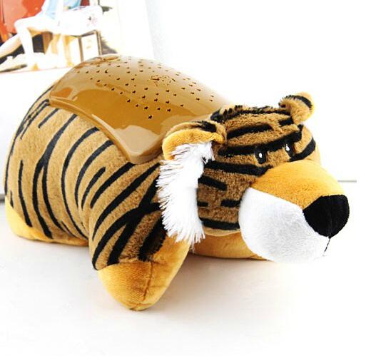 2015 tiger ladybird dog lovely animal led projection light star sky beautiful kids toys for sleep night lamp(China (Mainland))