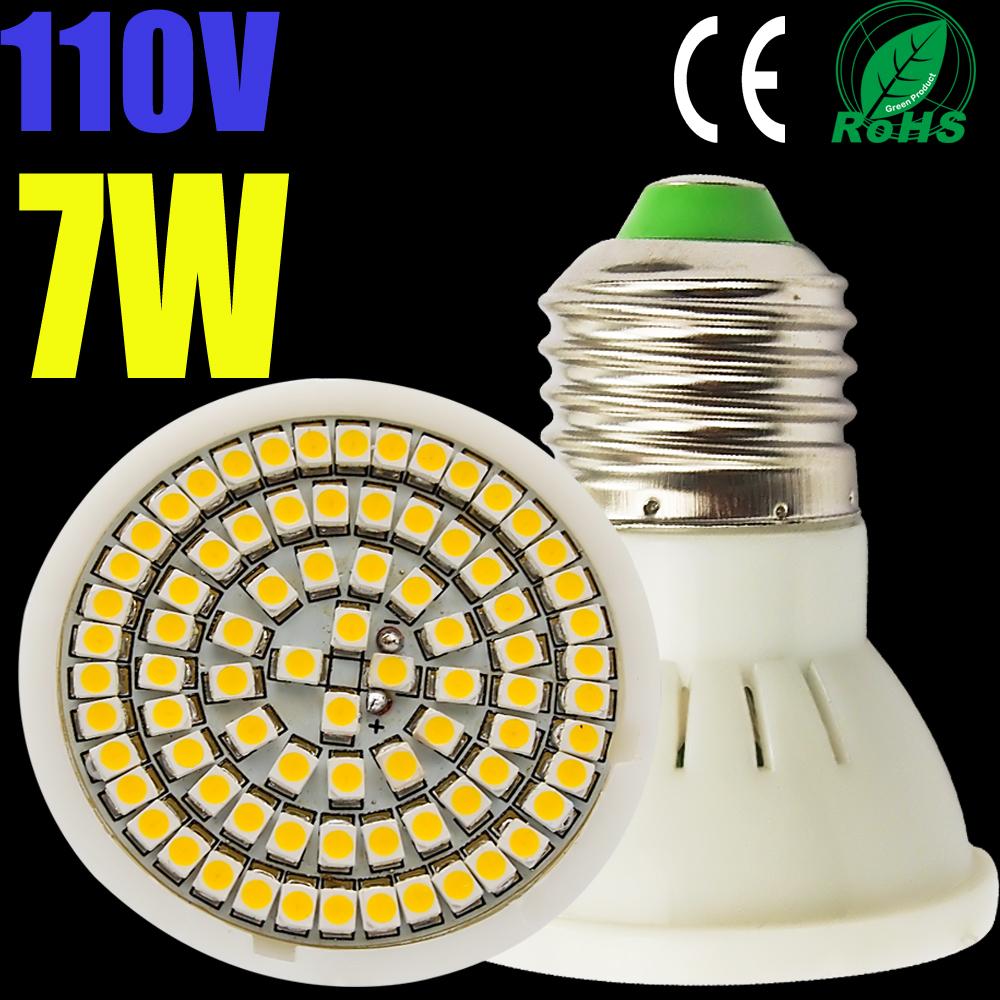 LED Bulb Lamp lights E27/E26 AC110V 120V Warm white/cold white 4W 5W 6W 7W 5050SMD/3528SMD - li kiki's store