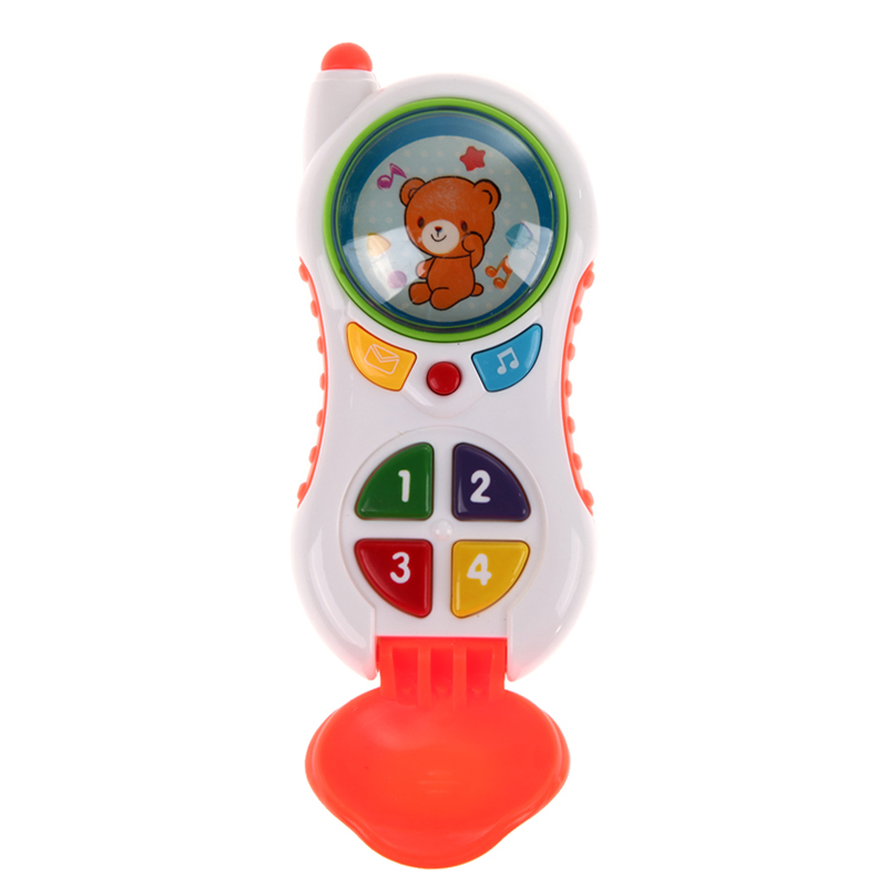 Free Shipping Baby Kids Learning Study Musical Sound Cell Phone Children Educational Toys K5BO<br><br>Aliexpress