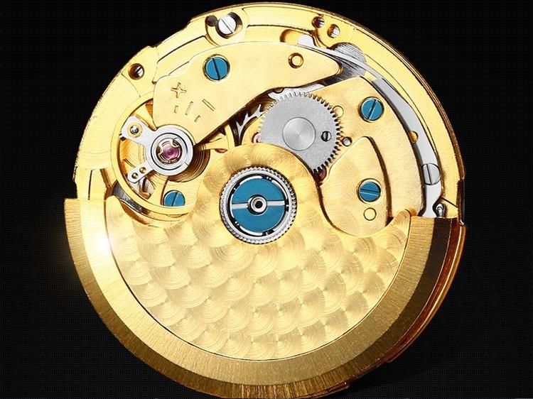 42 ММ SANGDO moon phase мужские часы Автоматическая Self-ветер движение Сапфир mirro Высокое качество 2016 новая мода