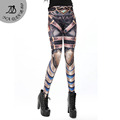 New Arrival legins The Cowboy Gun Style Printed Women leggings leggins women pant KDK1444