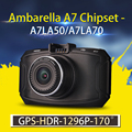 Ambarella A7 Car DVR GS90C GS90A G90 Car Camera 1296P FullHD DVR Recorder with Night Vision