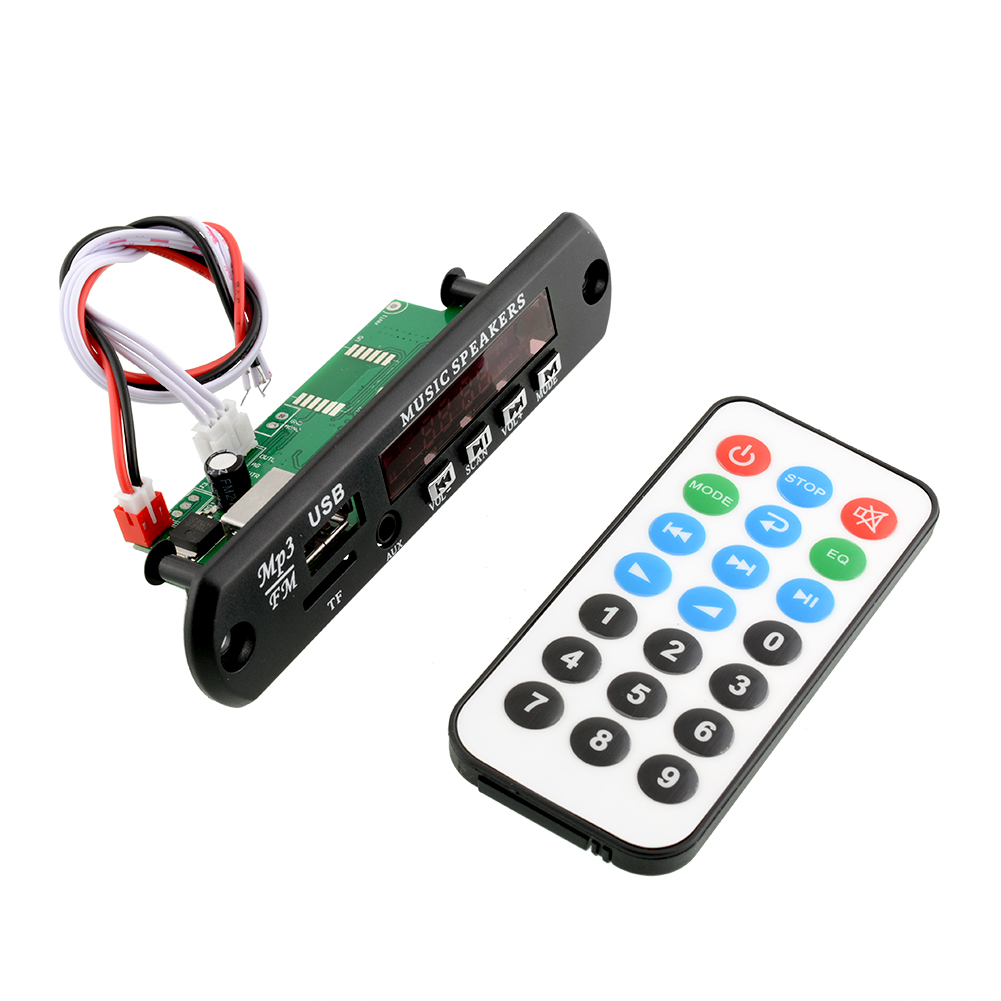 Black 1.5'' LCD Remote SD MP3 Player ZTV-M011 Infrared Remote Controller Module USB 2.0 3.5mm out jack Free Shipping(China (Mainland))