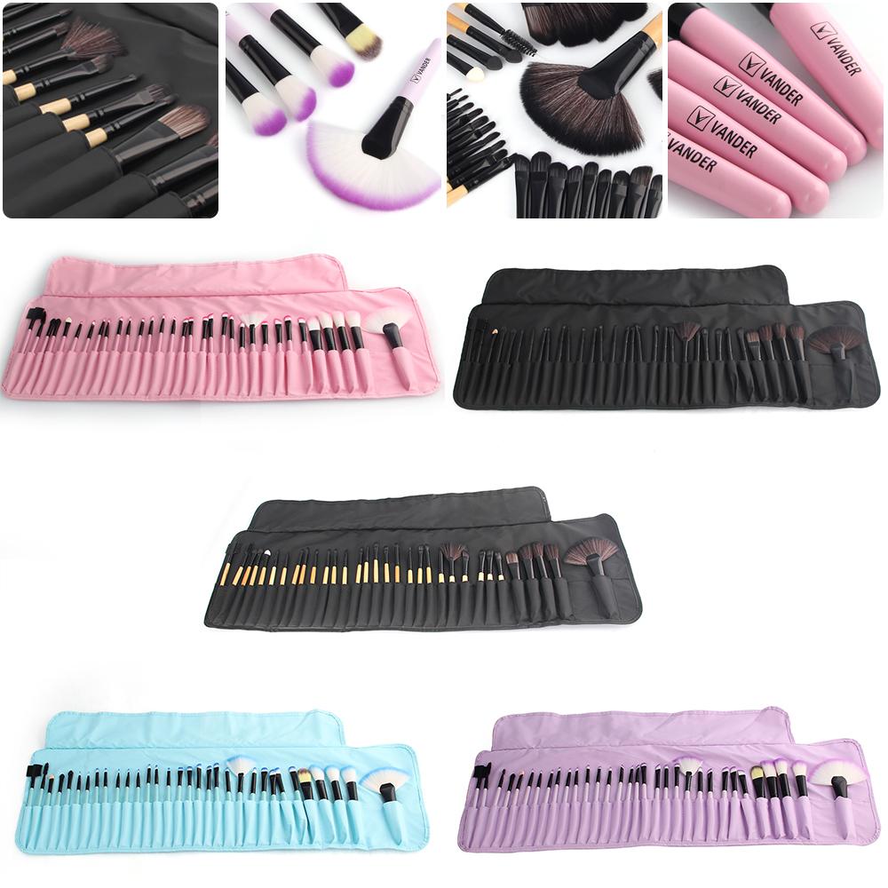vander soft makeup brushes set 32 pcs multi color maquillage beauty brushes best gift kabuki. Black Bedroom Furniture Sets. Home Design Ideas
