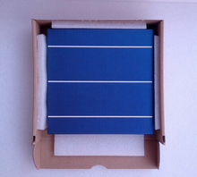 100pcs4.28 W 156 Poly polycrystalline Solar Cell 6x6(China (Mainland))