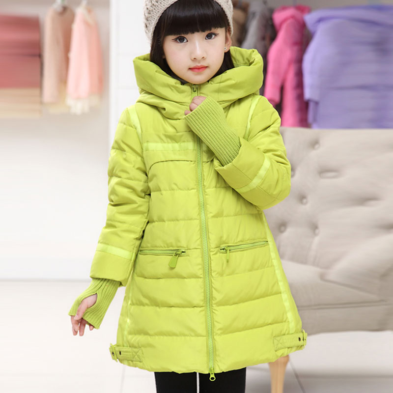 Girl childrens jacket long clothing Korean thick winter coat for girls outdoors warm down parkas kids clothes outerwear coats<br><br>Aliexpress