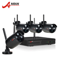 ANRAN Plug And Play 4CH Security Camera System Wireless NVR Kit P2P 720P HD Outdoor IR