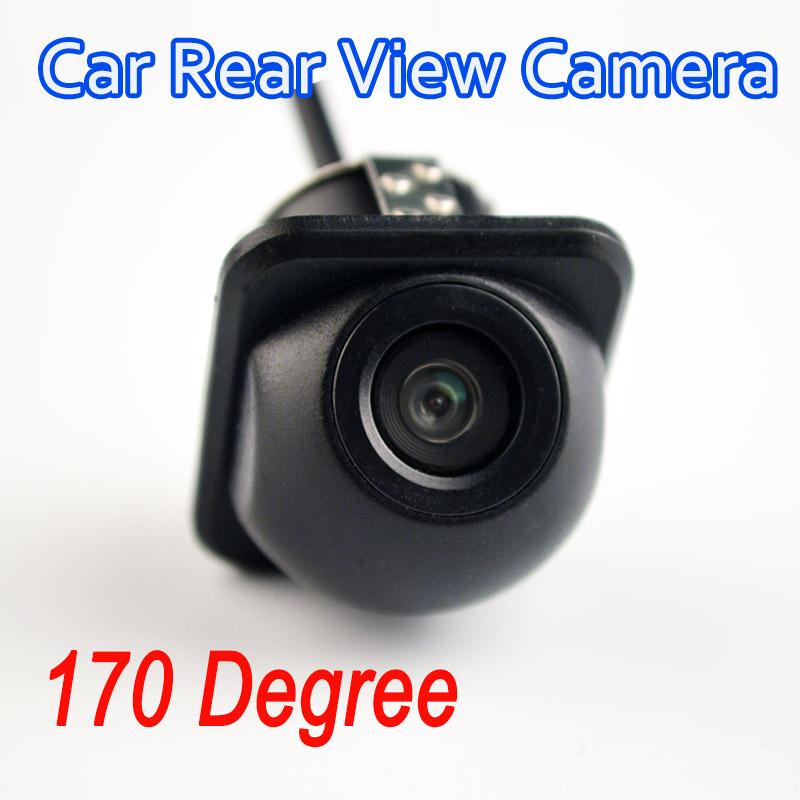 Mini Waterproof Car Parking Assistance Reversing Back Rear View Camera HD CCD Wire Car Rear View Camera free shipping(China (Mainland))