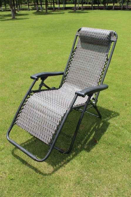 Cheap outdoor leisure furniture outdoor leisure rattan chair folding chair re