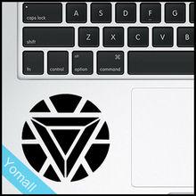 Iron Man logo Creative Trackpad Decal Sticker Creative Laptop Sticker for MacBook Air Pro Retina 11″ 12″ 13″ 15″ Touchpad Decal