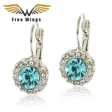 2016 Fashion Brincos Austrian Rhinestone Crystal Earrings Women from india bohemian boucle d'oreille femme pendientes bijoux(China (Mainland))