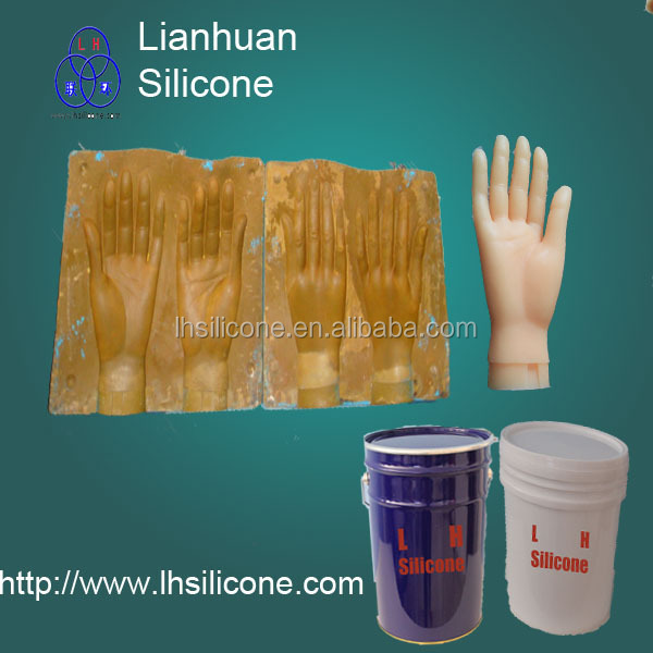 Life Casting Silicone Rubber for Human Body Parts ROHS Liquid Silicone Rubber(China (Mainland))