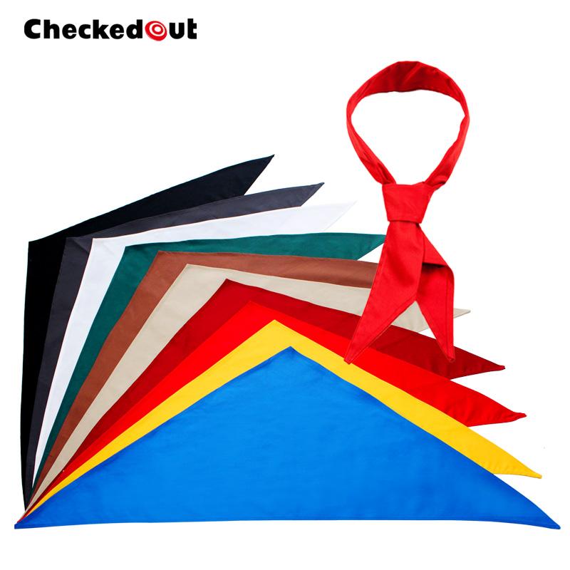 Free Shipping Cravat bow tie checkedout bib cravat Tringle Scarf Unisex(China (Mainland))