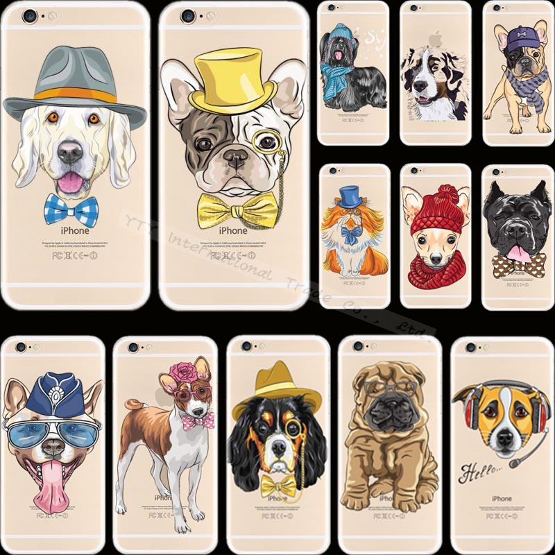 Top Popular Pattern Pet Dog Silicon Phone Cover Cases For Apple iPhone 5 iPhone 5S iPhone5S Case Shell E-KK J-QR O-TW APD(China (Mainland))