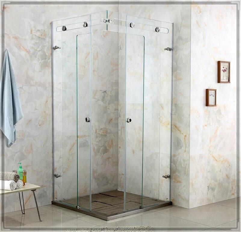 Luxury crystal glass shower room shower cabin shower glass door shower enclosure customize size porta prato mesa(China (Mainland))